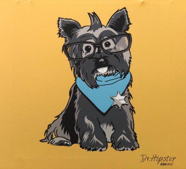 artpop perro color mostaza
