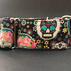 Collar Martingale con estampado mexicano