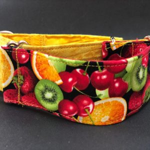 Collar Martingale estampado frutal
